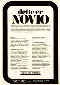 Novio April 1981